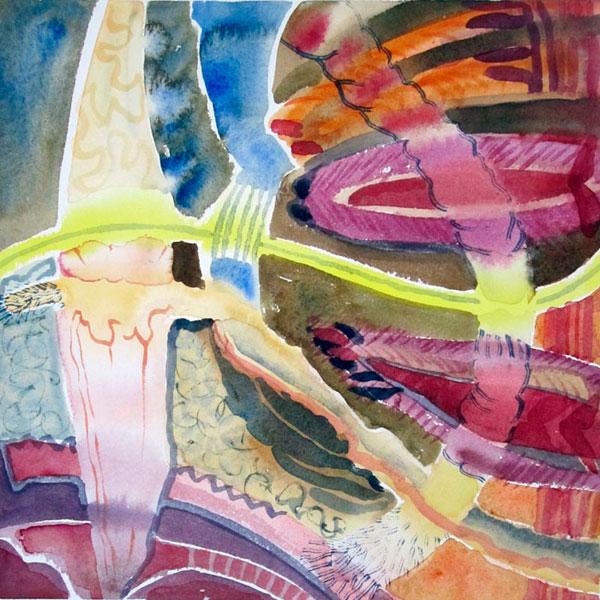 målning av Birgitta Westberg